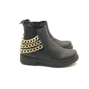 Ladies Black Ankle Boot Size 7